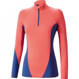 MIZUNO Tee-Shirt manches longues Virtual Body Fusion 1/2 zip F