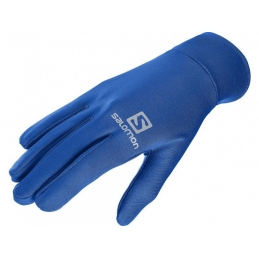 SALOMON Gants Agile Warm Bleu