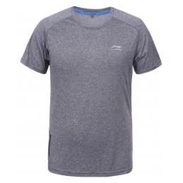 LI-NING Tee-shirt Jeri Gris  H