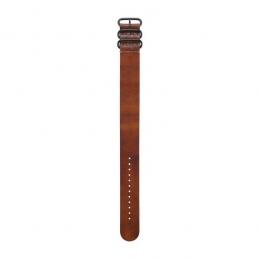 GARMIN Bracelet de montre en cuir brun