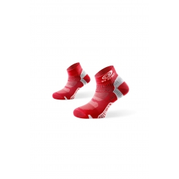 BV SPORT Socquette Light One ROUGE