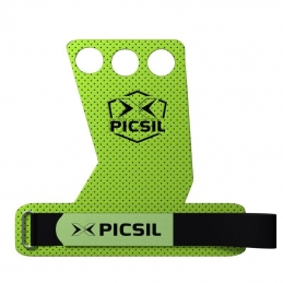 PICSIL Maniques CrossFit Vert AZOR grips 3