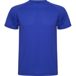 Supp Tee Shirt technique Bleu