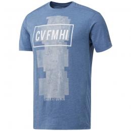 REBBOK Tee-Shirt RC Burnout SS H