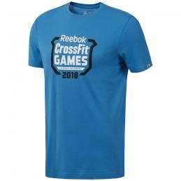 REEBOK Tee-Shirt CF Games Crest Tee MENBLU H