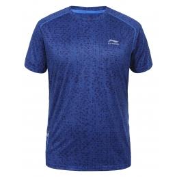 LI-NING Tee-shirt HORST Bleu H