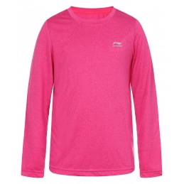 LI-NING Tee-Shirt ML Rose Junior