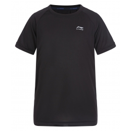 LI-NING Tee-Shirt MC Noir Junior