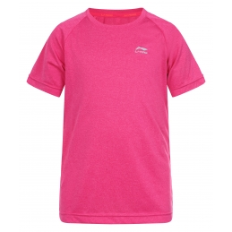 LI-NING Tee-Shirt MC Rose Junior