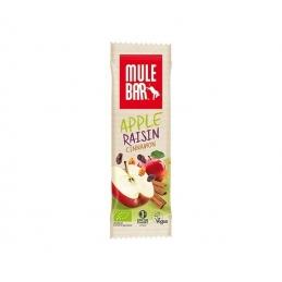 MULEBAR Barre énergétique Bio & Vegan – Pomme Raisins Cannelle