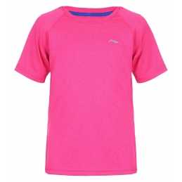 LI-NING Tee-Shirt USKO Rose  Juniors