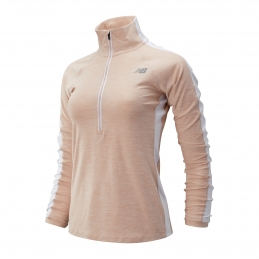 NEW BALANCE Haut ML 1/2 Zip F
