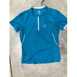 SALOMON TRAIL ZIP TEE W