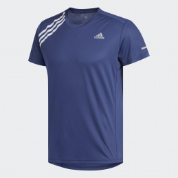ADIDAS Tee-Shirt RUN IT 3-STRIPES H