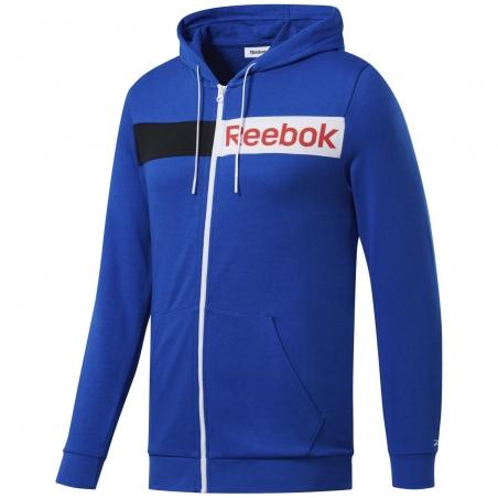 REEBOK Sweat TE linear logo FZ Hoodie