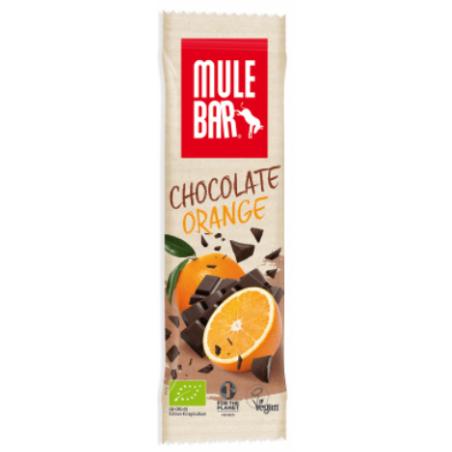 MULEBAR barre énergétique chocolat et orange