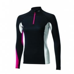 MIZUNO Tee-Shirt manches longues Virtual Body Fusion 1/2 zip H